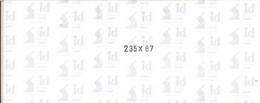 I.D. - Bandes 235x87 Fond Noir (double Soudure) - Bandes Cristal