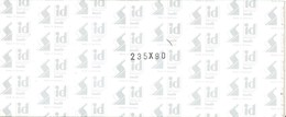 I.D. - Bandes 235x90 Fond Noir (double Soudure) - Bandes Cristal