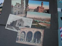 Italein Lot  5 Alte Karten Very Nice - Ansichtskarten