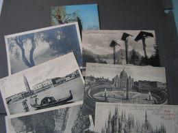Italein Lot  9 Alte Karten Very Nice - Ansichtskarten