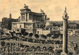 1950 CARTOLINA CON ANNULLO  ROMA   + TARGHETTA - Roma