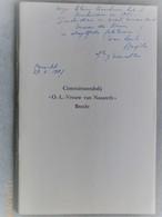 """Brecht. Cisterciënzerabdij """"O.L.Vrouw Van Nazareth"""". (1961) - Storia"""