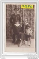 9589  POSTCARD AK CARTE PHOTO 2970 MEKNES AVIATEUR FAMILLE ( - Meknes