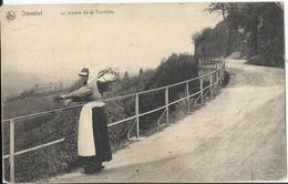 """Stavelot - Le Chemin De La Corniche, Belle Oblitération Feldpost """"Malmédy"""" 1914 - Stavelot"""