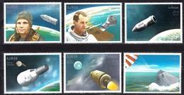 Ajman  Mi. 333  / 338   Apollo Landung / Gagarin / White **/MNH - Raumfahrt