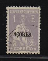 Acores 1921, Minr 227, Vfu - Azores