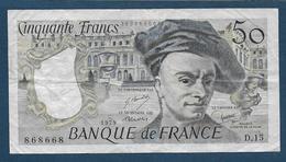 France - 50 F  Quentin De La Tour  De 1979 - 1962-1997 ''Francs''