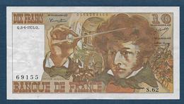 France - 10 F  Berlioz  Du  6 - 6 - 1974 - 1962-1997 ''Francs''