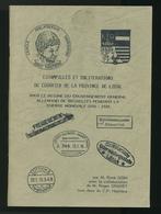 929/25 - LIVRE Oblitérations Province De Liège En 1914/18,  Par René Goin , 88 P. , 1988 , TTB Etat - Militaire Post & Postgeschiedenis