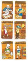 Métier, Boulanger Pâtissier, Commerce, Pain, Gateaux - 6 Cartes Illustrées, Image, Enfant - Jeu 7 Familles - Autres Collections