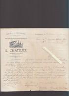 Grand Auverné 44 - Machines Et Instruments Agricoles - E.Chatelier - Facrure 1942 - 1900 – 1949
