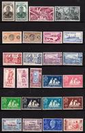 France - Saint Pierre Et Miquelon - Collection De 1909 à Vers 1950 - 40 Timbres Neufs - Collections, Lots & Séries