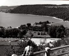 Grande Photo Originale Jura - Lac De Chalain (Lac Glaciaire De 232 Hectares) - Lieux