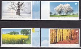 Série De 4 Timbres Autoadhésifs Neufs** - Les Quatre Saisons - N° 2399-2400-2401-2402 (Yvert) - Allemagne Fédérale 2006 - [7] Repubblica Federale