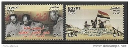 Egypt (2013)  - Set -  /  Military - Flag - Victoire - Victory - Victoria - Soldier - War - Egypte