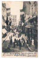 CPA Dos Non Divisé : NAMUR - Souvenir Du Congrès Eucharistique  3 Au 7 Septembre 1902 Rue De L'Ange - Namur