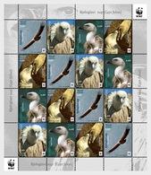 Croatia 2017 Sheet 16 V  MNH Eurasian Griffon  Birds Bird Oiseaux Oiseau - Hummingbirds