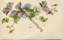 Catharina C. Klein ? - Blumen - Signiert C.K. - Verlag Wezel & Naumann Leipzig Serie 19 N°1 - Klein, Catharina