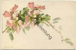 Catharina C. Klein ? - Blumen - Signiert C.K. - Verlag Wezel & Naumann Leipzig Serie 19 N°2 - Klein, Catharina