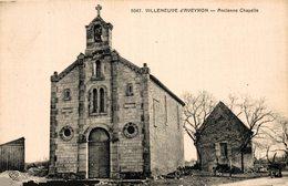 8322- 2018   VILLENEUVE D AVEYRON   ANCIENNE CHAPELLE - France