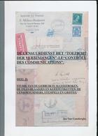 936/25 - LIVRE Censuurdienst Controle Des Communications ,par Van Gansberghe , 126 P. , Deel 2 , 2004 , Etat Comme NEUF - Poste Militaire & Histoire Postale