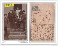 9605  POSTCARD AK CARTE PHOTO 2952 CAMP DE PRISONNIERS DE ELSENBORN GROUPE RUSSE ELSENBORN, BUTGENBACH, PROVINCE DE LIEG - Butgenbach - Buetgenbach