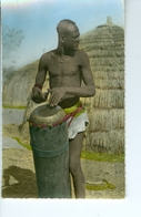 CP Photo L'Afrique En Couleurs 210 Tam-Tam   Hoa-Gui Dakar Robel - Postcards