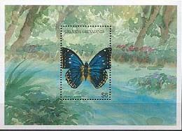 MDV-BK2-346 MINT ¤ GRENADA & GRENADINES 1997 BLOCK ¤ VLINDERS - BUTTERFLIES - MARIPOSAS - PAPILLONS - SCHMETTERLINGE -- - Vlinders