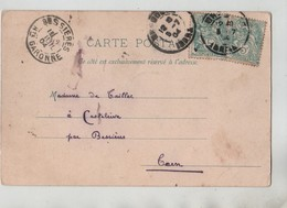 1904 De Taillac Castelrive Par Bessières Grenoble La Chaîne Des Alpes - Genealogia