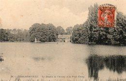 Ermenonville -   Le  Moulin  De  Chaalis  Et  Le  Petit  étang. - Ermenonville