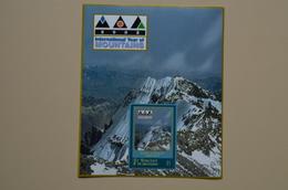 Saint Vincent 2002 S/S MNH International Year Of Mountains Aconcagua Année Montagne - Geography