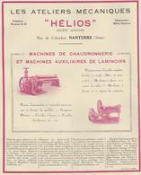 Ateliers Mécaniques Helios Nanterre - Reclame