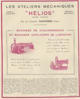 Ateliers Mécaniques Helios Nanterre - Advertising