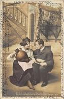 """Série De 6 CP Fantaisies. Cartes Précurseurs Ayant Voyagé. """"Adieux Avant Le Départ Au Régiment."""" - Postcards"""