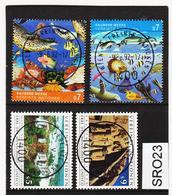 SRO23 VEREINTE NATIONEN UNO WIEN 1992 Michl 125/28 Used / Gestempelt - Wien - Internationales Zentrum
