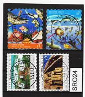 SRO24 VEREINTE NATIONEN UNO WIEN 1992 Michl 125/28 Used / Gestempelt - Wien - Internationales Zentrum