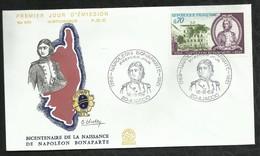 NAPOLEON BONAPARTE . 16 AOÛT 1969 . AJACCIO . - 1960-1969