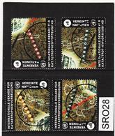 SRO28 VEREINTE NATIONEN UNO WIEN 1994 Michl 170/73 Used / Gestempelt - Wien - Internationales Zentrum