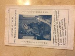 1939 Santino Libretto Religioso Novena O Triduo Della Madonna Del Rosario Di Pompei - Santini