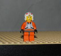 Lego Personnage Star Wars Luke Skywalker Pilote Ref Sw019a - Lego Technic