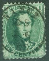 Belgique  Cob 13  Ob  Second Choix   Dent 12.5 Par 12.50 - 1863-1864 Medaglioni (13/16)
