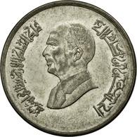 Monnaie, Jordan, Hussein, 10 Piastres, 1996/AH1416, TTB, Nickel Plated Steel - Jordanie