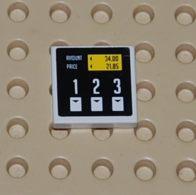 Lego Dalle 2 X 2 Avec Motif De Pompe Essence Sticker Ref 3068bpb0328 Set 8135 - Lego Technic