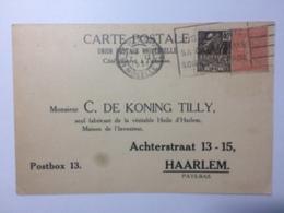 FRANCE - 1931 Postcard - To Haarlem - C.de Koning Tilly - Harlemensis Illustration - France