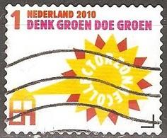 Pays Bas - 2010 - Énergie Solaire - YT 2699 Oblitéré - Period 1980-... (Beatrix)