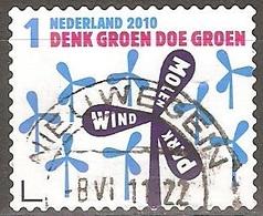 Pays Bas - 2010 - Éolienne - YT 2701 Oblitéré - Period 1980-... (Beatrix)