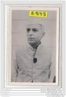 9613  POSTCARD AK CARTE PHOTO 2943 PRIME MINISTER NEHRU - India