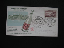 FDC 1959     N° 1193  Evian-les-Bains     à Voir - FDC