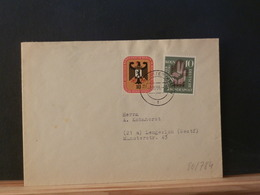 80/784 LETTRE  ALLEMAGNE  1956 - BRD