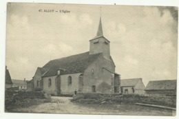 Carte Sépia  47. ALLUY.  L'Eglise - Other Municipalities
